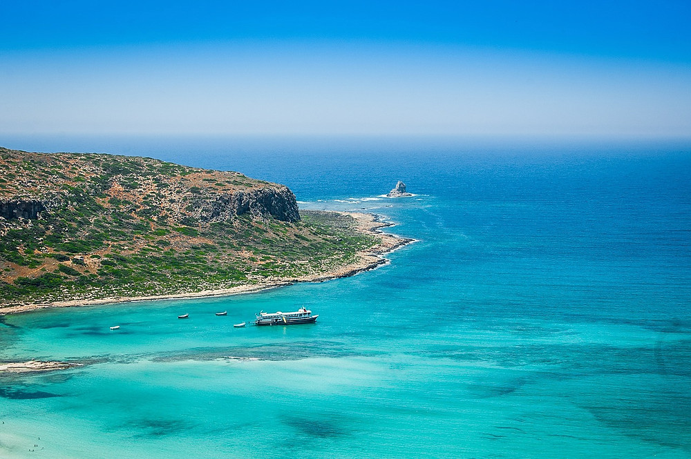 turquoise waters of Balos paradise