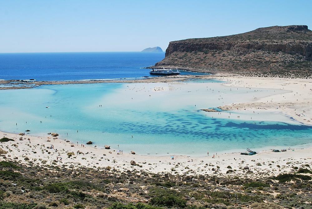 the Balos lagoon paradise on earth