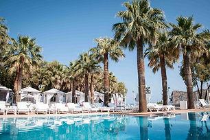 luxury beach club