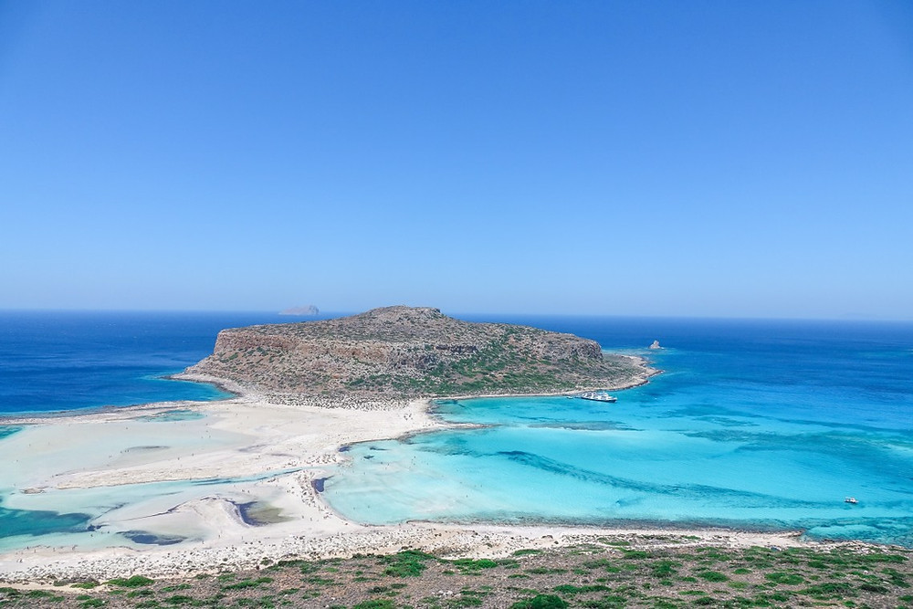 view to Balos and Gramvousa