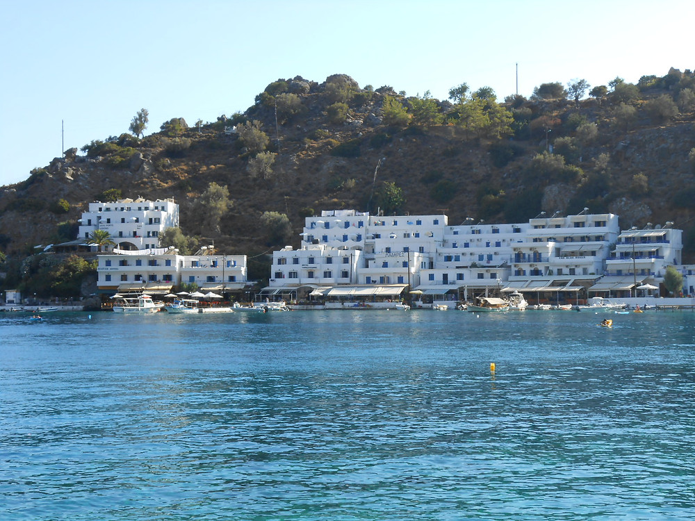 Arriving to Loutro from Sfakia