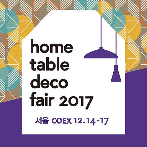 HOME TABLE DECO FAIR 2017