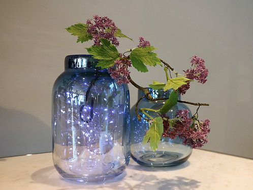 BLUE GRADATION GLASS BOTTLE