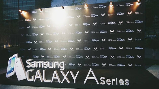 Samsung Galaxy A Product Launch - Branding and activation
