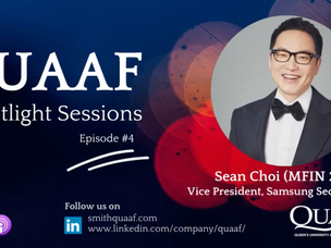 Alumni Spotlight Podcast: Sean Choi (MFin'20)