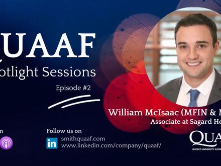 Alumni Spotlight Podcast: Will McIsaac (MBA/MFin'18)