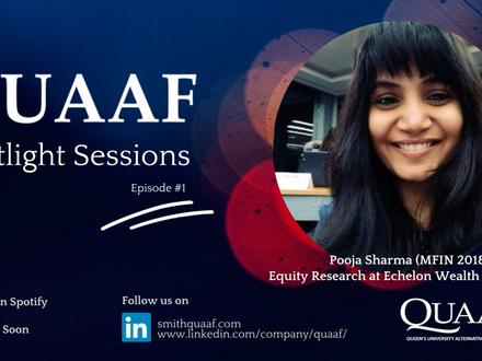 Alumni Spotlight Podcast: Pooja Sharma (MFin'18)