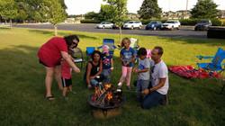 Campfire Wed