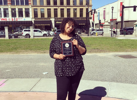 Stacie Brimmage Receives the 2019 Youth Worker Award