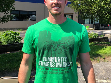 Meet Ted, our Mobile and Farmers Market intern!