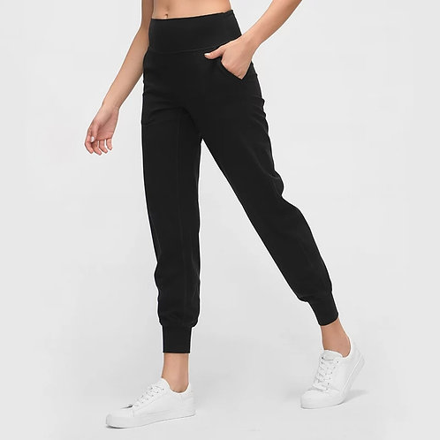 Whimsy NAKd Compression Waist Joggers (Black)
