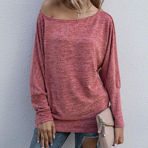 Cranberry Long Sleeve Soft & Cozy Shirt