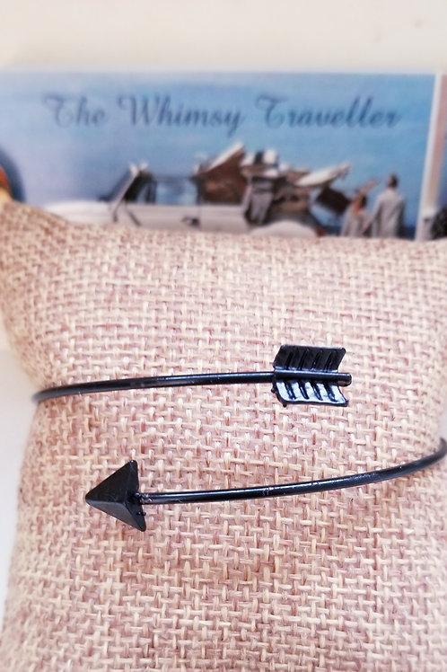 Boho Style Adjustable Follow Your Arrow Bracelet