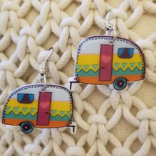 Happy Glamper/Camper Earrings