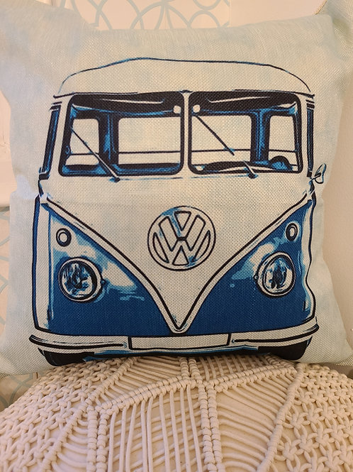 Whimsy Home VW Bus Pillow Cover