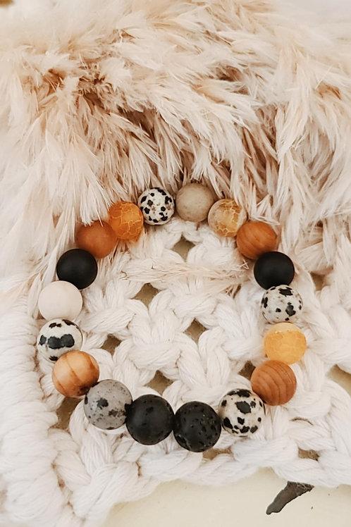 """Handmade """"Whimsy"""" Essential Oil Diffuser Bracelet"""