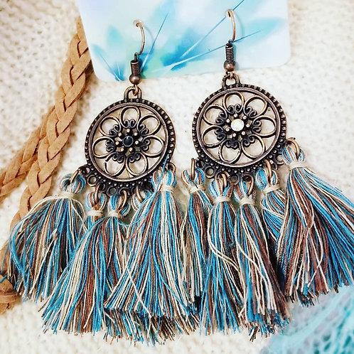 BoHo Tassel Earrings ☆ MULTI COLOUR