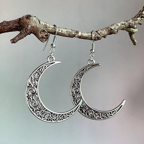 Crescent Moon BoHo Earrings