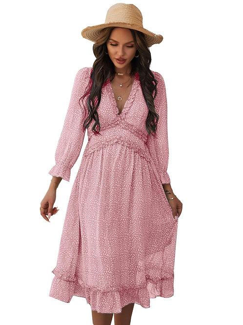 """Chantelle"" Pretty in Pink Dress"