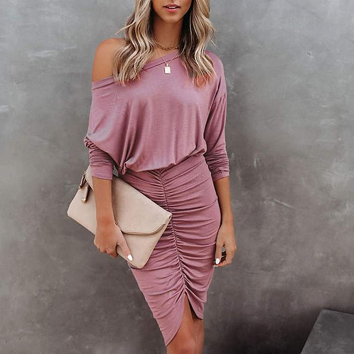 Stunning Casual and Sexy Pink Dress