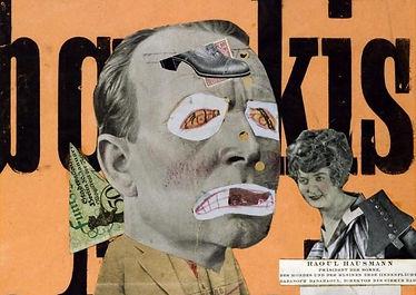 Il Critico d'arte | Fotomontaggio  Raoul Hausmann (1919)