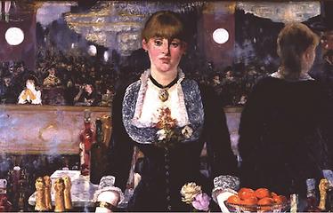 Un bar aux Folies Bergère | Painting  Édouard Manet (1881-1882)