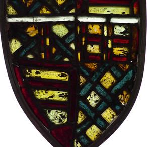 North transept window (nVll): shield A2