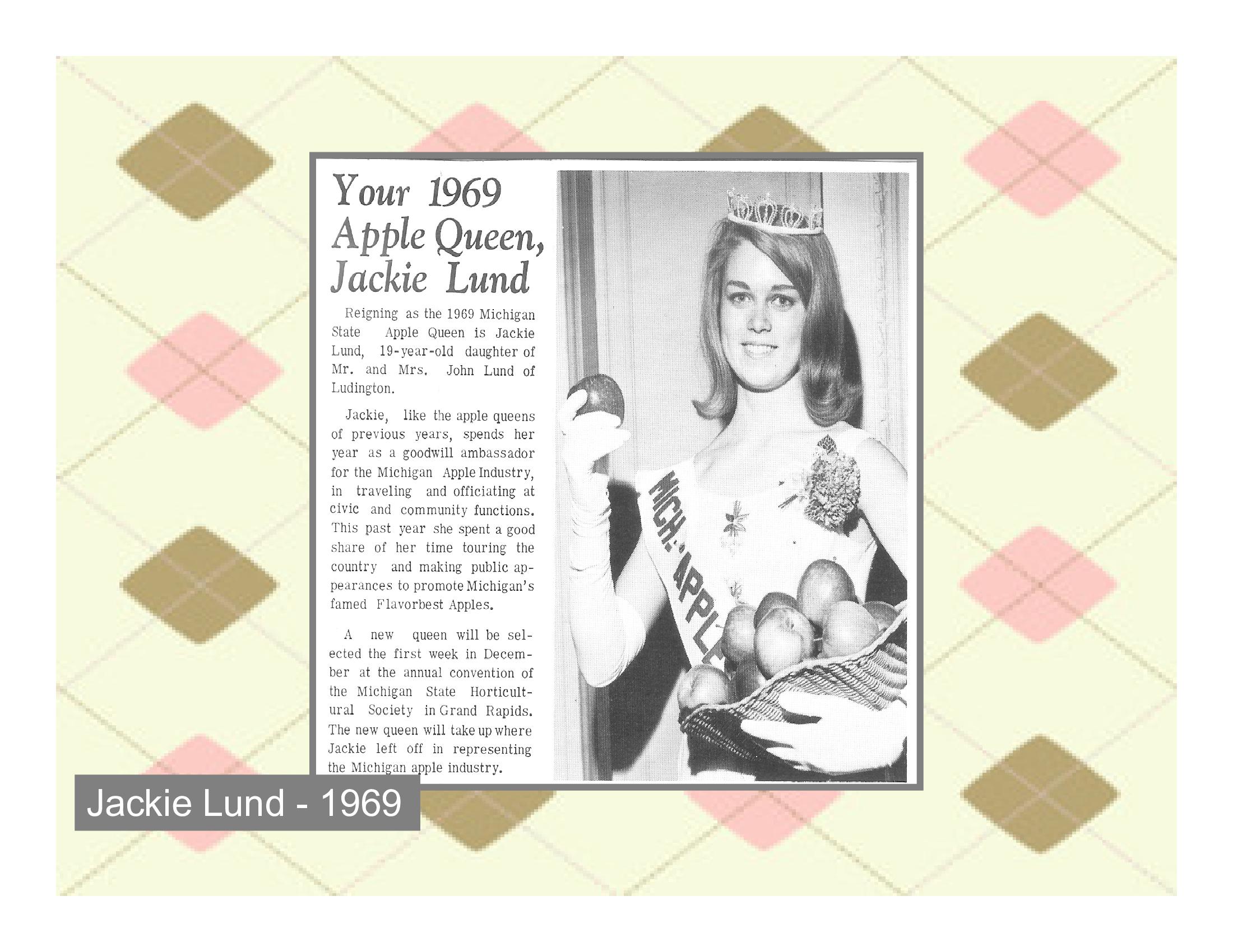 Jackie Lund - 1969