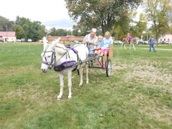 Johnny Appleseed cart ride