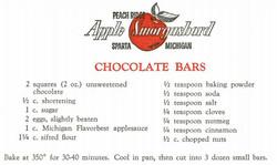 Chocolate Bars 1959