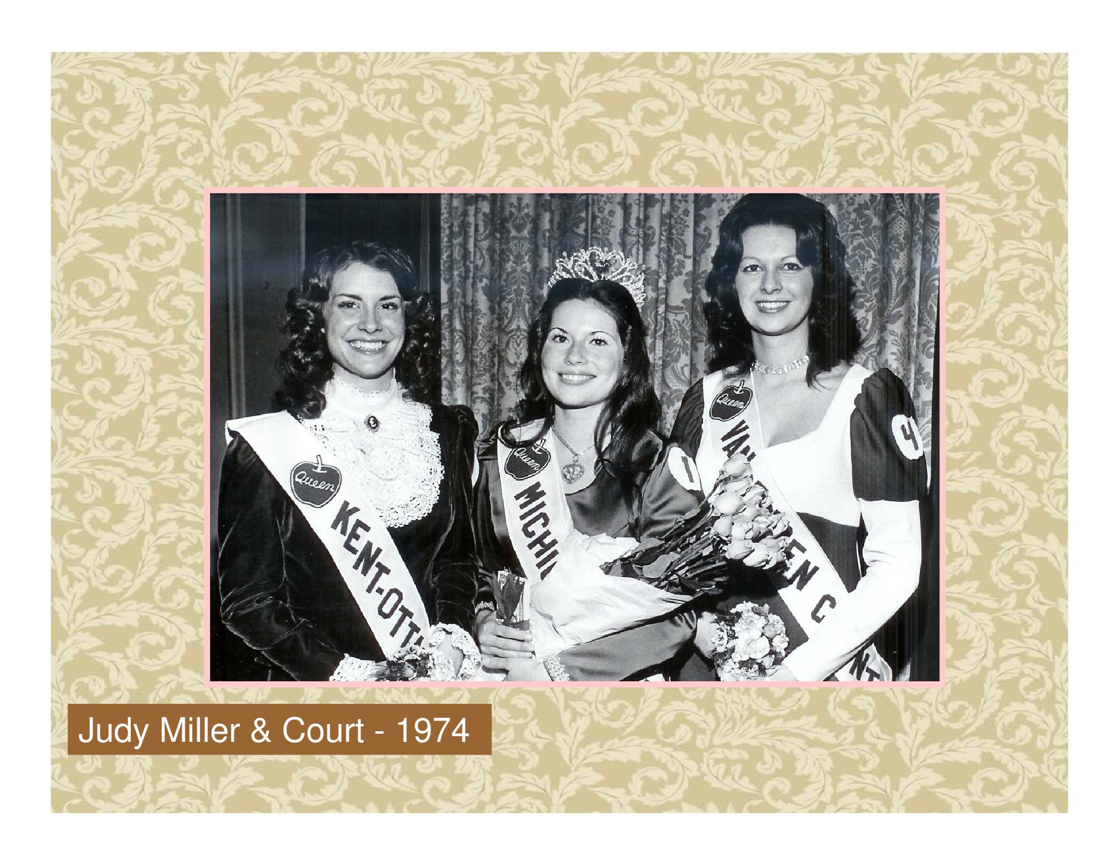 Judy Miller & Court - 1974
