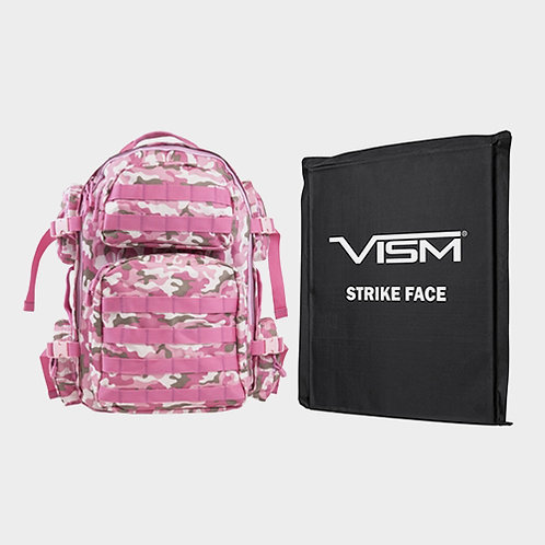 NcStar Tactical Backpack (Pink Camo)