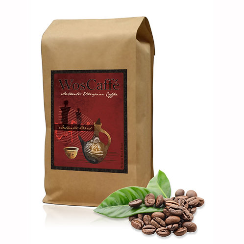 Authentic Blend - Roasted Sidamo and Yirgacheffe Beans