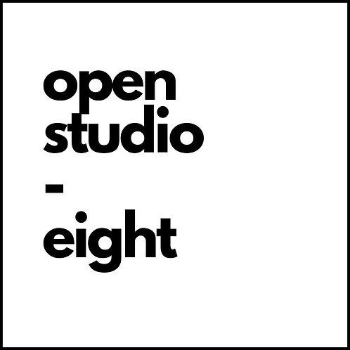OPEN STUDIO: Eight Visits