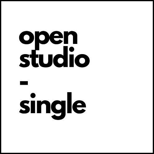 OPEN STUDIO: one session