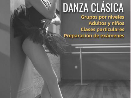 Ampliamos las clases de Danza Clásica