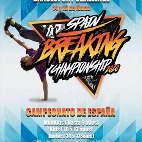 Campeonato de España de Breaking en Alicante