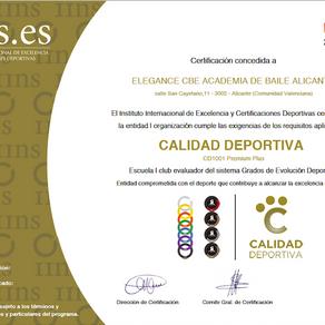 Certificaciones deportivas con el IINS
