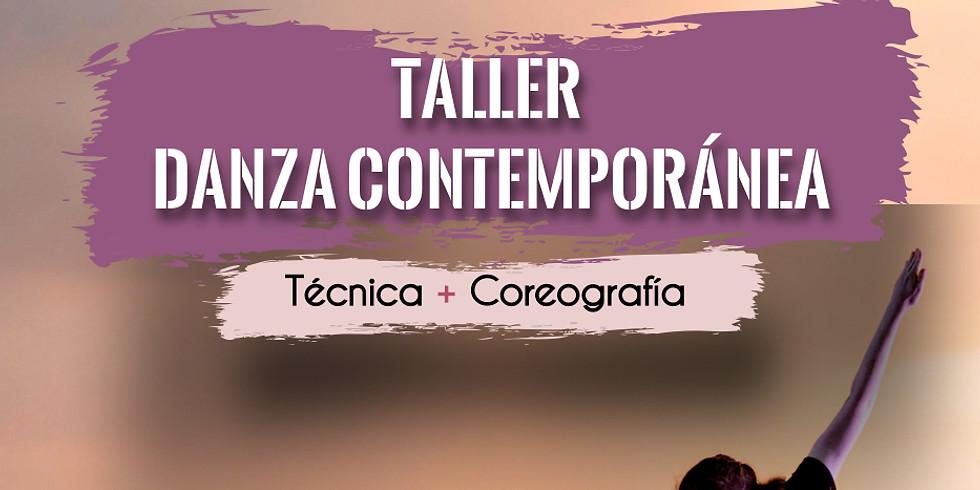 Taller de Contemporáneo: técnica + coreografía