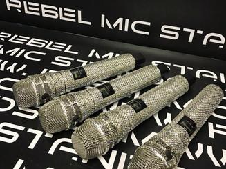Shure crystal mics