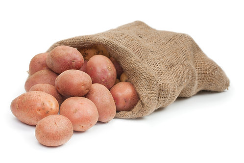 25kg Sack of washed, Red Desiree Potatoes