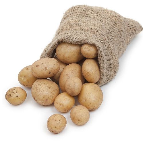 25kg Sack of White Potatoes