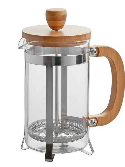Wood French Coffee Press