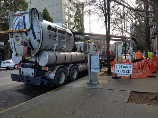 Street cleaning service in Washington