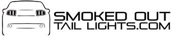 smoked out tail lights logo