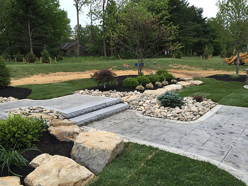 cement landscaping - hardscaping contractors lehigh valley