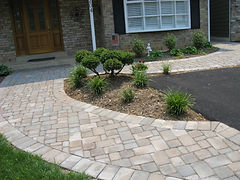 hardscaping with pavers
