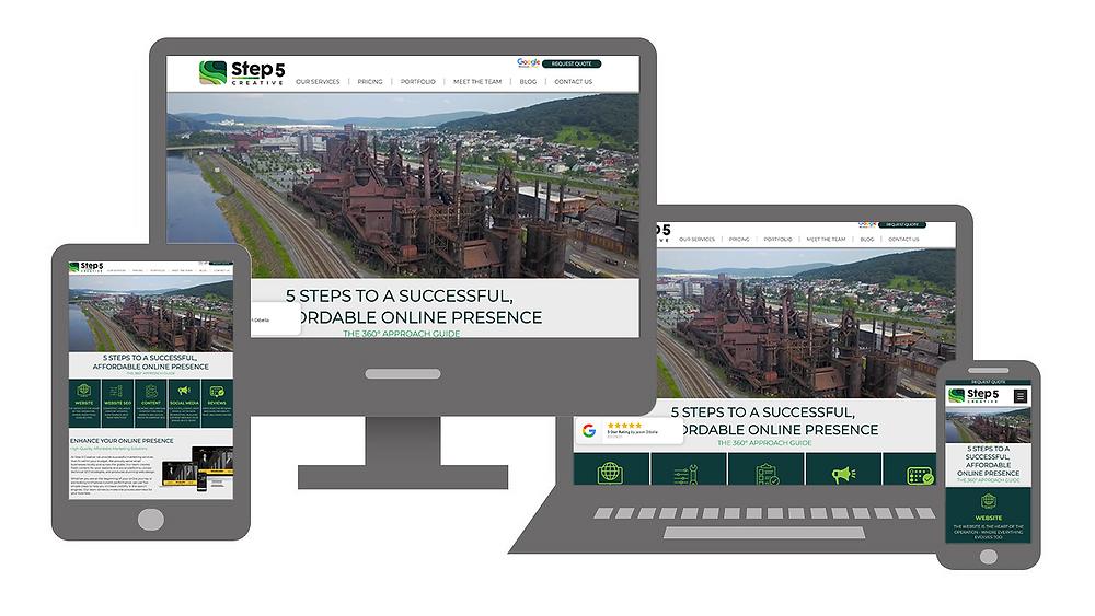 responsive web design lehigh valley pa