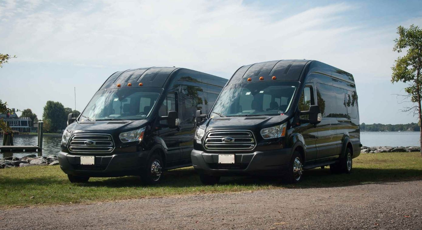 luxury limo van rental