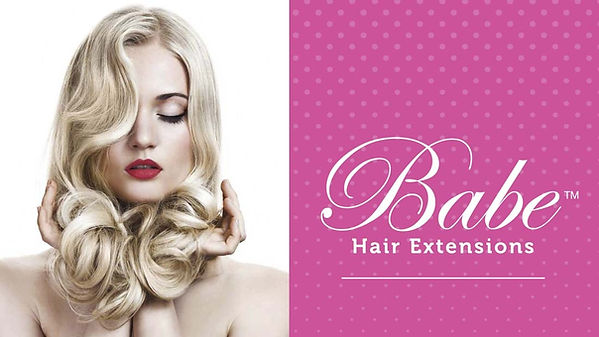 Babe hair extensions - tape-in and microlink